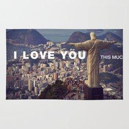 Rio de Janeiro - I love you this much Rug