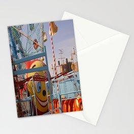 coney island fairground Stationery Cards