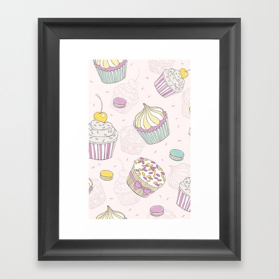 Sweets Galore! Framed Art Print