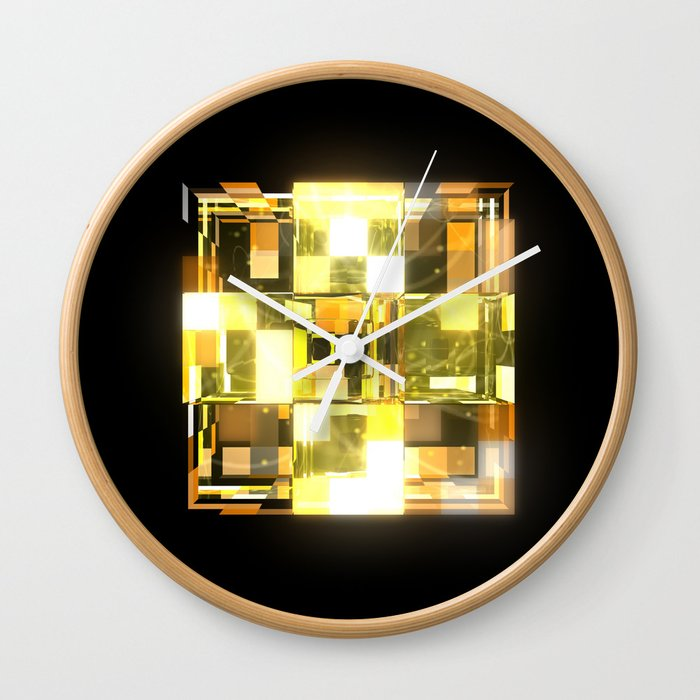My Cubed Mind: Frame 019 Wall Clock