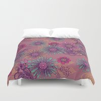 fifth harmony Duvet Covers featuring Harmony by Rskinner1122