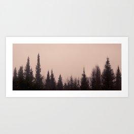 treeline Art Print