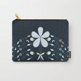 Night Garden Pattern Carry-All Pouch