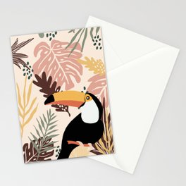 Toucans are love Stationery Cards