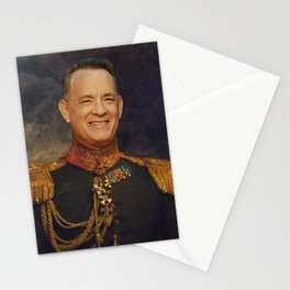 Tom Hanks, Forrest Gump, Toy Story, Classical Painting Portrait, Regal art, General, Actor Stationery Cards