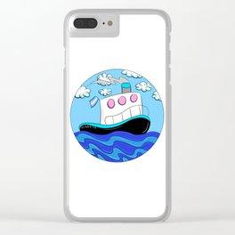 Rub N Tugboat- Trans Clear iPhone Case