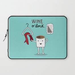 Wine O'clock Laptop Sleeve
