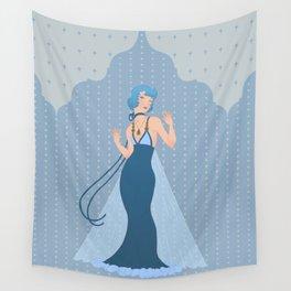 Deco Mercury Princess Wall Tapestry