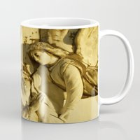 angels Mugs featuring Angels by David Jessamy