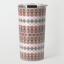 Micro Pattern Neo Tribal Beauty Travel Mug