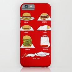 Seven Deadly Hamburgers iPhone 6s Slim Case