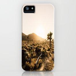 California Cactus iPhone Case