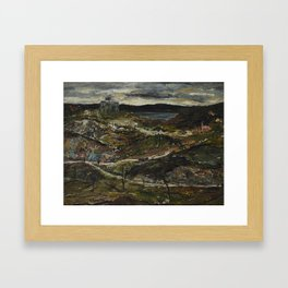 Ernest Lawson -  Landscape Framed Art Print