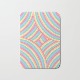 Rainbow Stripes 6 Bath Mat