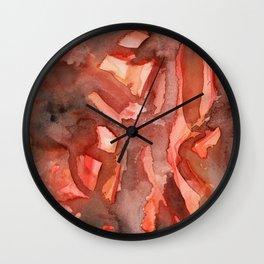 Bacon Wall Clock