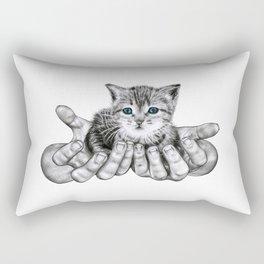 Possession // Graphite Rectangular Pillow
