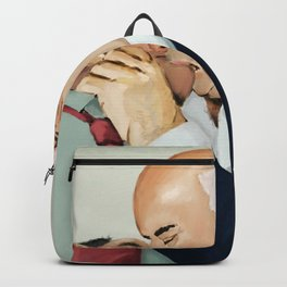 These men eventually got married Backpack