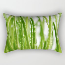 Green gras 03 Rectangular Pillow