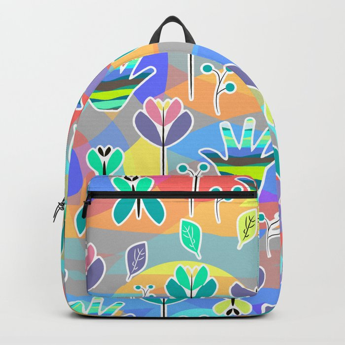 Happy pattern Backpack