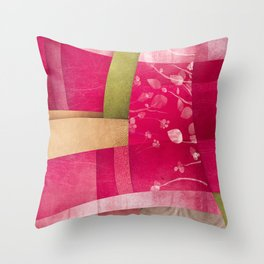 Vintage poster Throw Pillow
