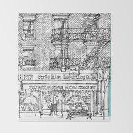 PORTO RICO IMPORT CO, NYC Throw Blanket