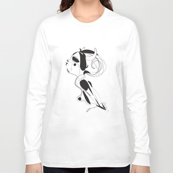 Maen ar sklerijenn - Emilie Record Long Sleeve T-shirt