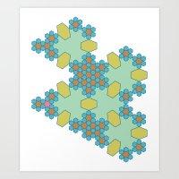 Geo #2 Art Print