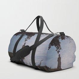 Sherlock Holmes ( Silent Thoughts at the Lake) Duffle Bag