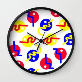 Chaos Shapes Wall Clock