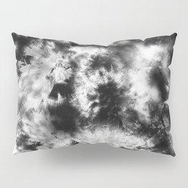 Black and White Tie Dye & Batik Pillow Sham