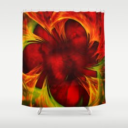 Blind Fury Shower Curtain