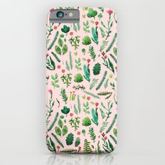 pink garden iPhone 6s Slim Case