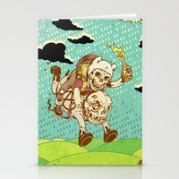 anarchy Stationery Cards featuring Anarchy Time by Beery Method
