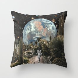 A DISTANT VIEW Throw Pillow
