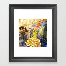 Spain Travel Framed Art Print
