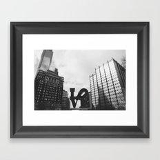 Philly Love Framed Art Print
