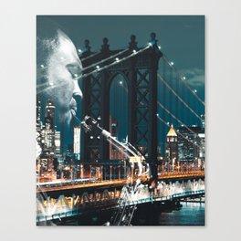 Jazz in New york Canvas Print