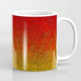 Flame Glitter Gradient Coffee Mug