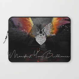 Manifest Your Brilliance Laptop Sleeve