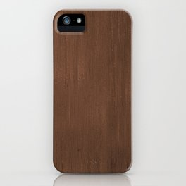Wood Feeling iPhone Case