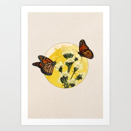 Monarch - Into the Woods Art Print