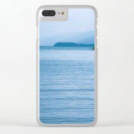 Lake in Struga Clear iPhone Case