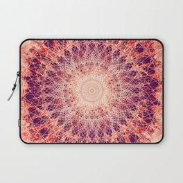 Apricot Mandala Laptop Sleeve