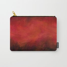 Abstract Red Black Dark Matter Carry-All Pouch