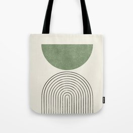 Arch balance green Tote Bag