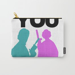 Star Wars Han Solo and Princess Leia 'I love You, I Know' design Carry-All Pouch