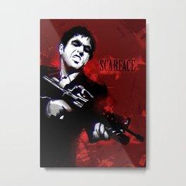 Scarface Metal Print