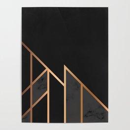 Black & Gold 035 Poster