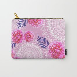 Mandalas and peonies n.4 Carry-All Pouch