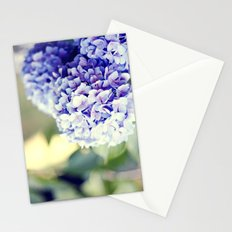 Purple Hydrangeas Stationery Cards